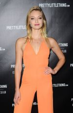 INDIA GANTS at Prettylittlething by Kourtney Kardashian Launch in Los Angeles 10/25/201