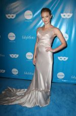 INDIA GANTS at Unicef Next Generation Masquerade Ball in Los Angeles 10/27/2017