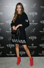INKA WILLIAMS at Veuve Clicquot Widow Series VIP Launch Party in London 10/19/2017