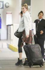 IRELAND BALDWIN at LAX Airport in Los Angeles 10/28/2017