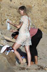 IRELAND BALDWIN on the Set of a Photoshoot at a Beach in Malibu 10/05/2017