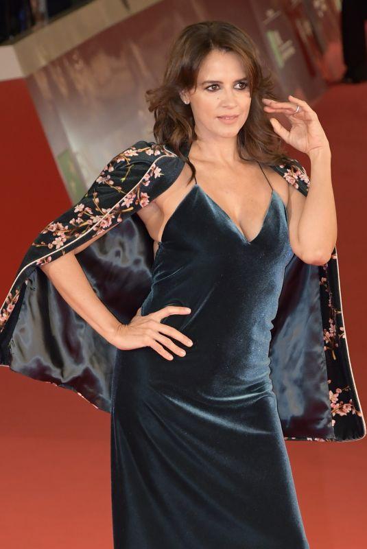 IRENE FERRI at Hostiles Premiere at Rome Film Festival 10/26/2017