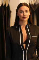 IRINA SHAYK at Intimissimi Flagship Boutique Opening in New York 10/18/2017