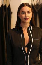 IRINA SHAYK at Intimissimi Flagship Boutique Opening in New York 10/18/2017