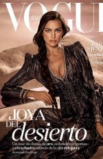 IRINA SHAYK in Vogue Magazine, Mexico October 2017 Issue