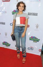 ISABELA MONER at TJ Martell Foundation Family Day in Los Angeles 10/07/2017