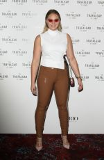 ISKRA LAWRENCE at Trafalgar St James Launch Party in London 10/18/2017