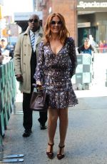 ISLA FISHER Arrives at AOL Build in New York 10/03/2017