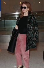 ISLA FISHER at LAX Airport in Los Angeles 10/11/2017