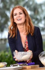 ISLA FISHER at The Chew at 22nd Epcot International Food & Wine Festival at Walt Disney World in Orlando 10/04/2017