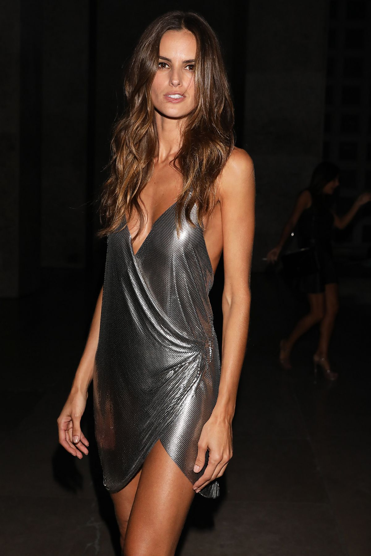 IZABEL GOULART Arrives at CR Fashion Book Launch Party in