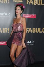 IZABEL GOULART at 2017 Amfar Fabulous Fund Fair in New York 10/28/2017