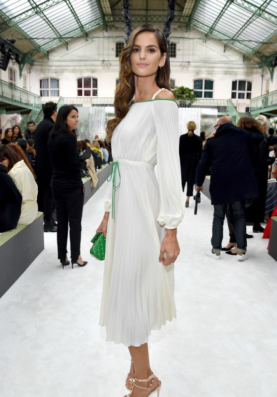 IZABEL GOULART at Valentino Fashion Show at Paris Fashion Week 10/01/2017