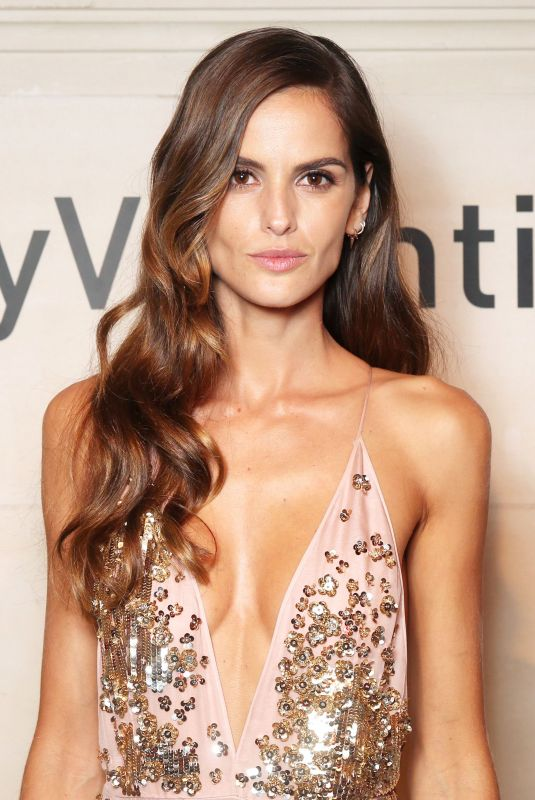 IZABEL GOULART at Very Valentino Party in Paris 10/01/2017