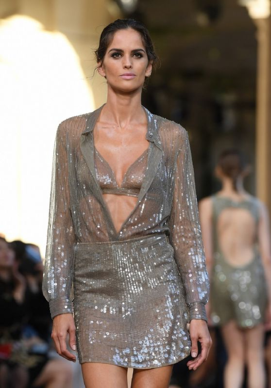 IZBAEL GOULART at Alberta Ferretti Fashion Show