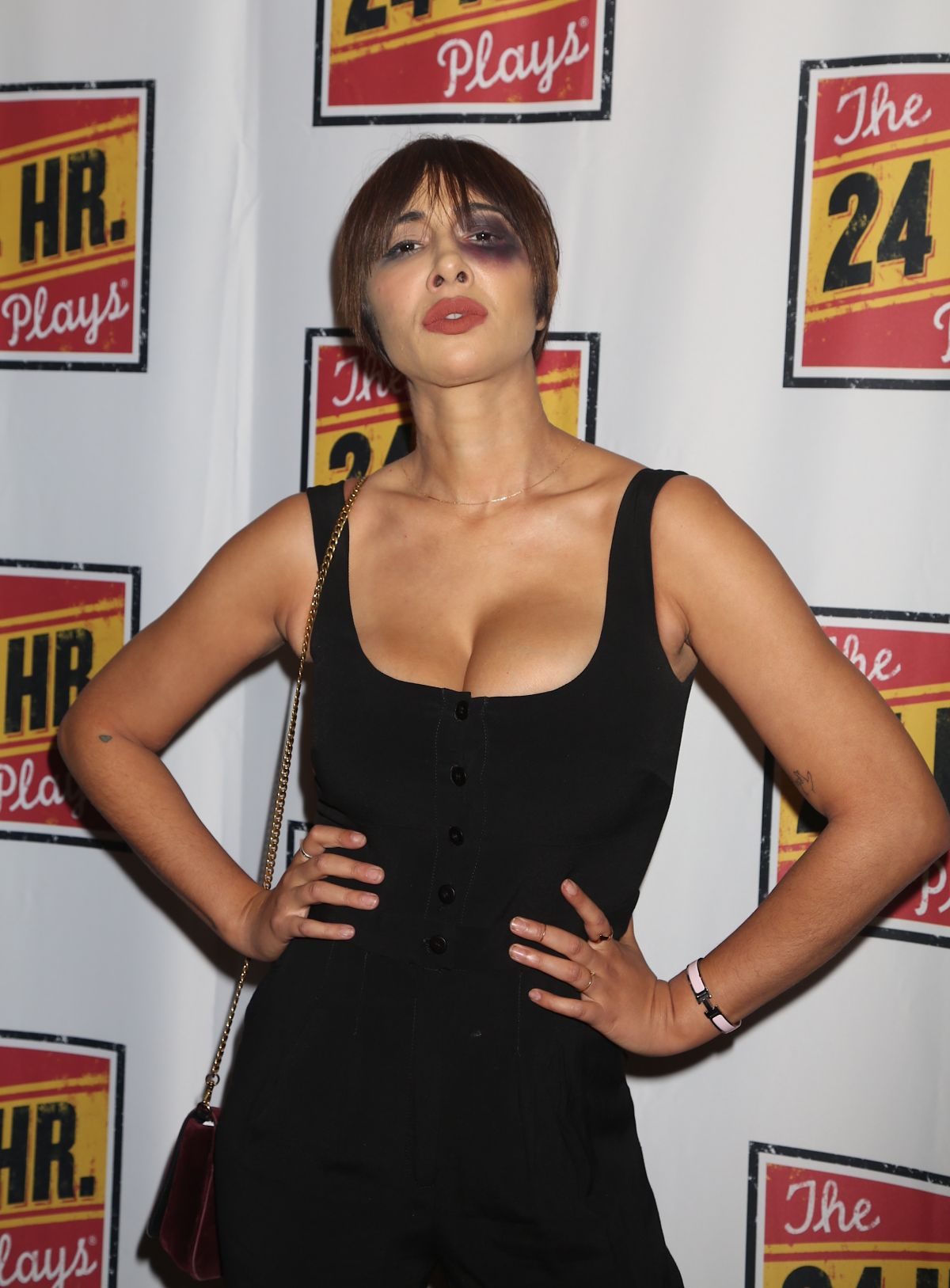 Jackie Cruz At 24 Hour Plays On Broadway At American