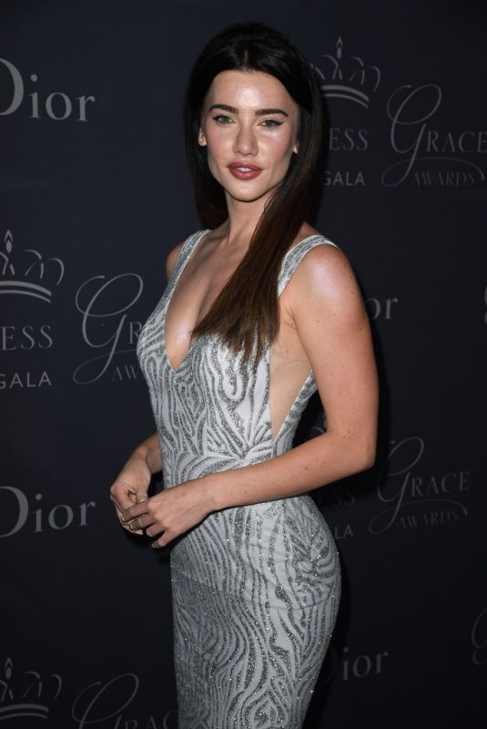JACQUELINE MACINNES WOOD at Princess Grace Awards Gala in Hollywood 10/24/2017