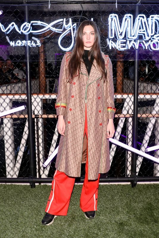 JACQUELYN JABLONSKI at Moxy x Made: Moxy Times Square's Coming Out Party in New York 10/25/2017