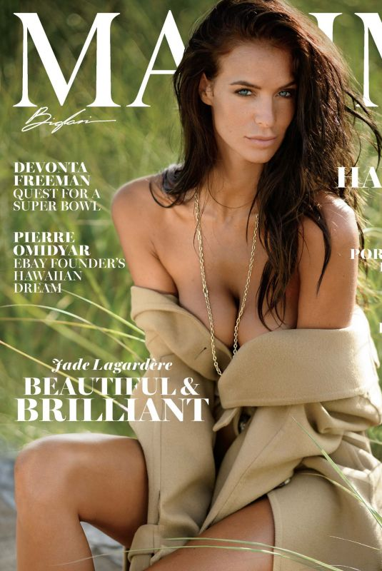 JADE LAGARDERE in Maxim Magazine, November 2017