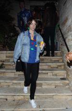 JAIME KING Leaves Just Jared Halloween Party in Los Angeles 10/27/2017