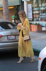 JAIME KING Out for Coffee in Beverly Hills 10/13/2017