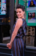 JAIMIE ALEXANDER Out and About in New York 10/27/2017
