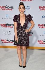 JAMIE LEE at A Bad Moms Christmas Premiere in Westwood 10/30/2017