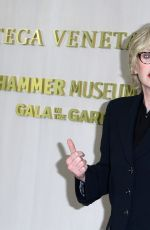 JANE LYNCH at Hammer Museum Gala in the Garden Honoring Ava Duvernay in Los Angeles 10/14/2017