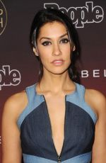 JANINA GAVANKAR at People's Ones to Watch Party in Los Angeles 10/04/2017