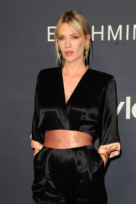 JANUARY JONES at 2017 Instyle Awards in Los Angeles 10/23/2017