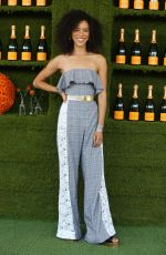 JASMIN SAVOY at 8th Annual Veuve Clicquot Polo Classic in Los Angeles 10/14/2017