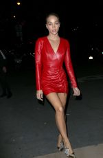 JASMINE SANDERS Arrives at CR Fashion Book Launch Party in Paris 09/30/2017