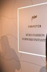 JASMINE SANDERS at Buro 24/7 x Farfetch Fashion Forward Initiative in Paris 09/30/2017
