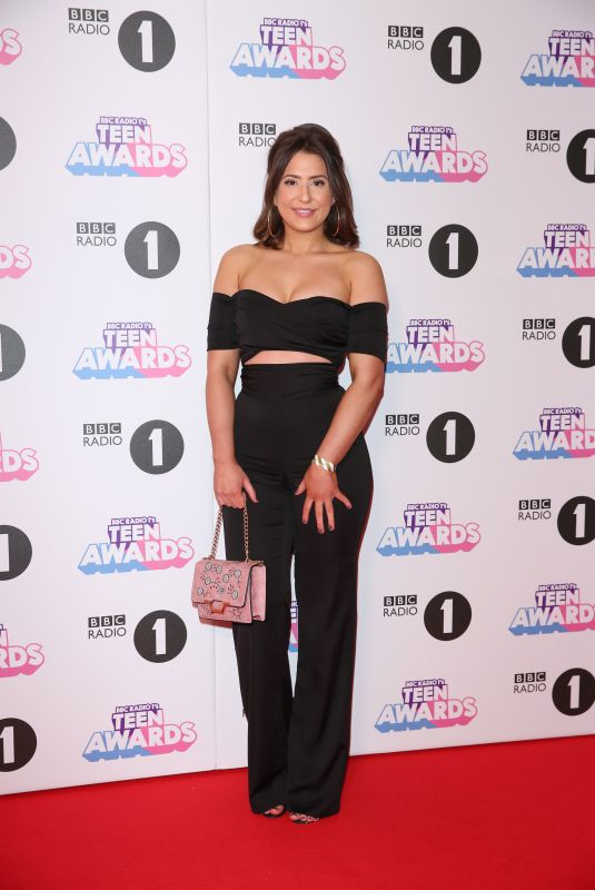 JASMINE ARMFIELD at BBC Radio 1 Teen Awards 2017 in London 10/22/2017