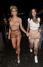 JEMMA LUCY and CHARLIE DOHERTY Night Out in Manchester 10/14/2017
