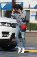 JENNA DEWAN in Denim Out and About in Los Angeles 10/17/2017