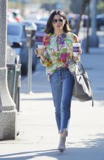 JENNA DEWAN Out for a Coffee in Studio City 10/26/2017