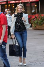 JENNI FALCONER at Global Radio in London 10/06/2017