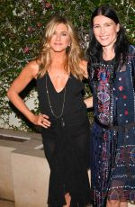 JENNIFER ANISTON at Tabitha Simmons by Jennifer Aniston Dinner in West Hollywood 10/12/2017