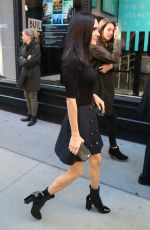 JENNIFER CONNELLY Arrives at AOL Build Series in New York 10/17/2017
