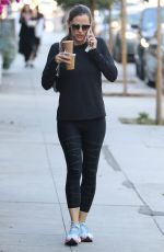 JENNIFER GARNER Out and About in Brentwood 10/10/2017