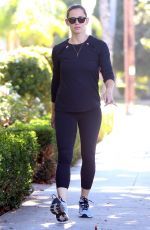 JENNIFER GARNER Out and About in Brentwood 10/23/2017