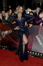 JENNIFER HUDSON at The Voice Photocall in Manchester 10/17/2017
