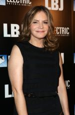 JENNIFER JASON LEIGH at LBJ Premiere in Los Angeles 10/24/2017