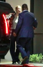 JENNIFER LAWRENCE and Darren Aronofsky Arrives at Their Hotel in Los Angeles 10/26/2017