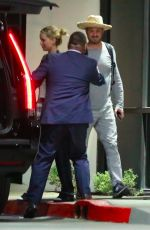 JENNIFER LAWRENCE and Darren Aronofsky Heading to a Hotel in Los Angeles 10/26/2017
