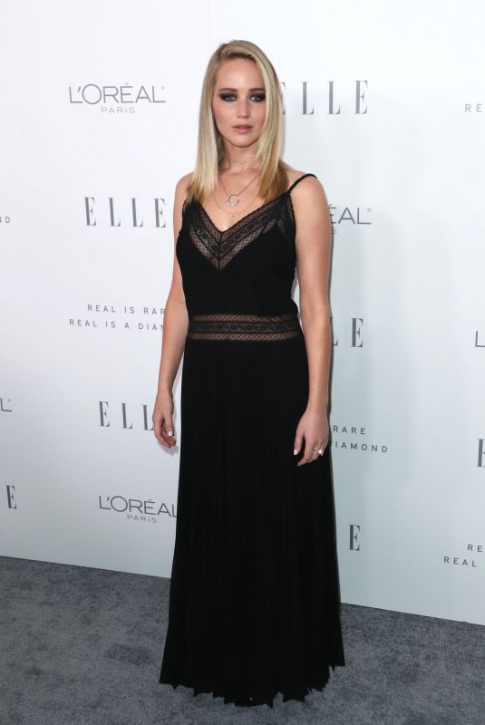 JENNIFER LAWRENCE at Elle Women in Hollywood Awards in Los Angeles 10/16/2017