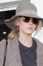 JENNIFER LAWRENCE at LAX Airport in Los Angeles 10/01/2017