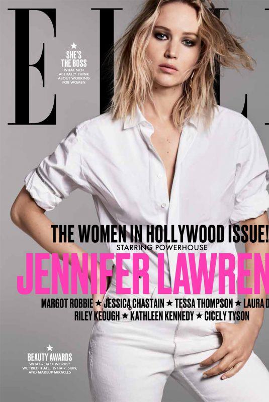JENNIFER LAWRENCE for Elle, Women in Hollwood Issue, November 2017