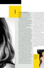 JENNIFER LAWRENCE in Grazia Magazine, UK October 2017